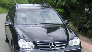 For BENZ W203 水箱罩